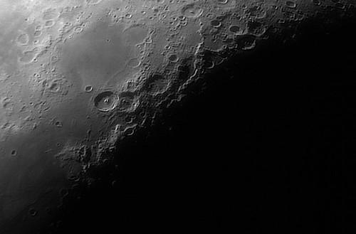 Luna con filtro IR