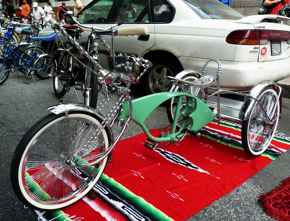Green Chrome Trike
