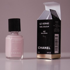 Chanel Ballerina (Mrs Maccas) Tags: pink wedding ballerina pastel gimp polish chanel beginner nailvarnish learner levernis