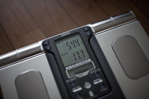 54.4kg