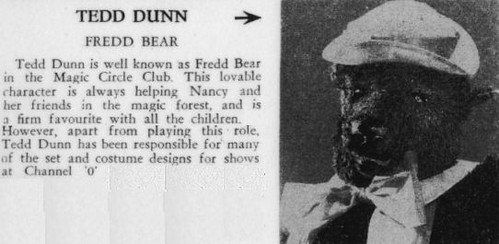 Fredd Bear in Magic Circle Club