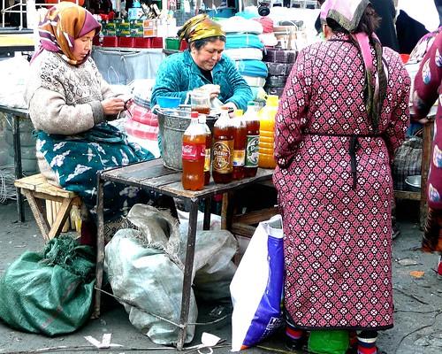 Oil Sellers  - Urgut, Uzbekistan