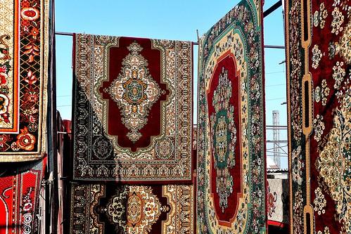 Carpets - Urgut, Uzbekistan