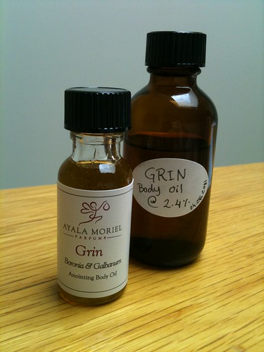 Grin Body Oil by Ayala Moriel