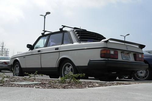 Volvo 240 rear window louvers