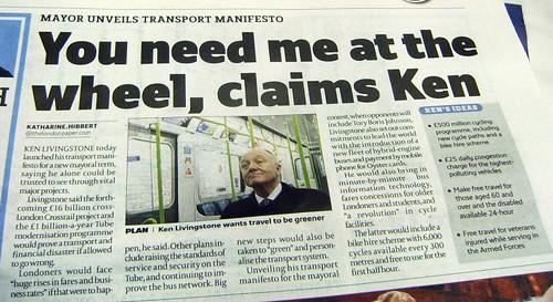 Ken's Transport Manifesto