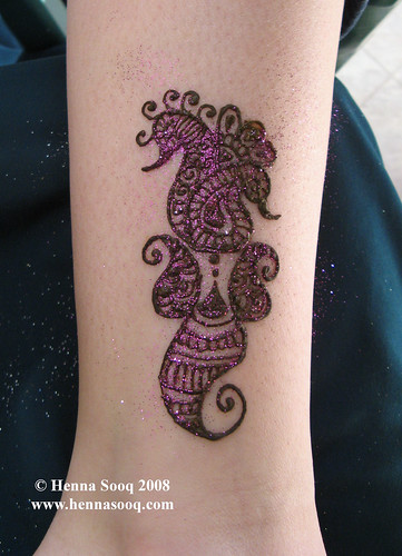 In this method you can create glitter temporary tattoos that last at least