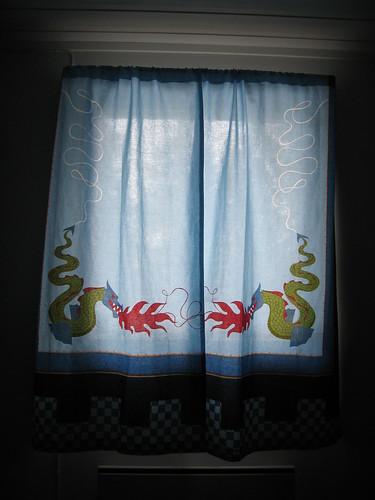 Dragon curtains