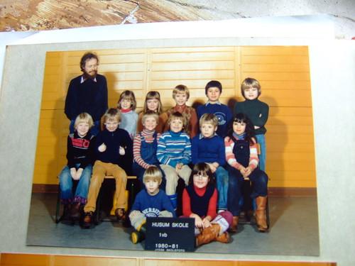 Klassebillede 1vb husum skole