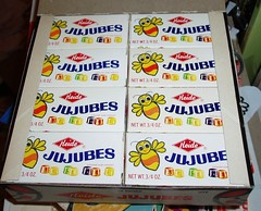 Jujubes Display box