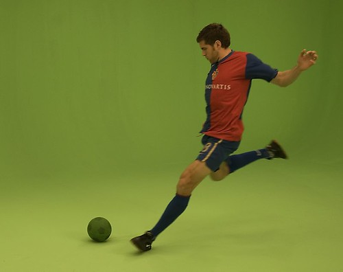 Kicking the ball