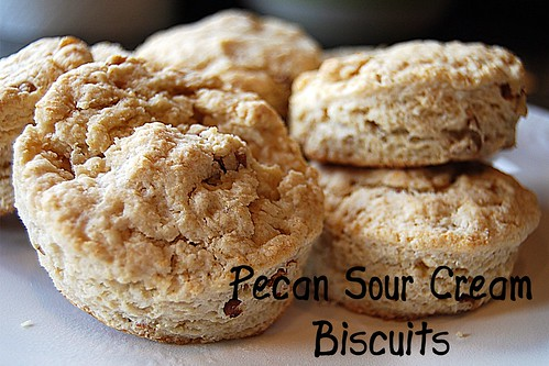pecan sour cream biscuits - Page 065