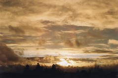 Sunset with Many Clouds 2 (Ludovic Macioszczyk Photography) Tags: world life camera light sunset 2 6 3 france color art film colors true clouds contrast analog 35mm canon vintage photography 50mm gold 1 photo exposure shoot photographie with kodak ae1 many lumire 5 4 picture 7 8 9 pic scan m iso photographs 200 contraste keep alive 135 18 87 vie argentique appareil limousin fd the photographe ludovic ngatif pellicule ludos dveloppement macioszczyk