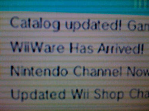 WiiWare has Arrived