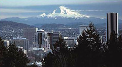 Portland, OR (by: USGS)