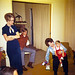 1970-12-25 Christmas at Eudy's Robert Jr Linda Boucher & Carl Hanson