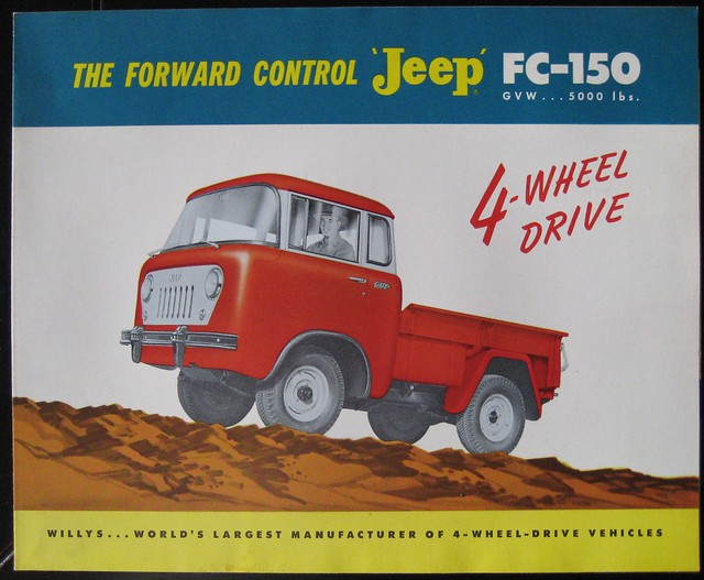 auto ohio truck ads advertising jeep pickup motors toledo kaiser fc willys fc150 forwardcontrol