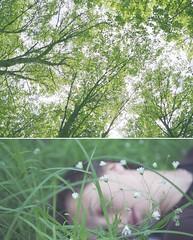 автопортрет 60й день (tomato_senya) Tags: trees selfportrait green me nature bodylanguage 365ru
