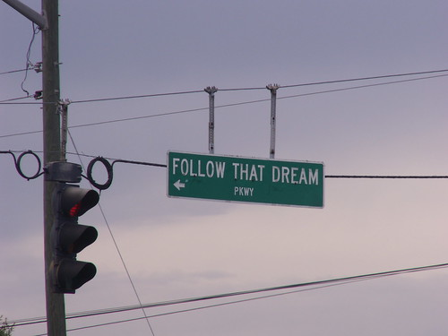 Follow That Dream Parkway in Inglis, FL