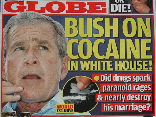 Bush on Cocaine in White House