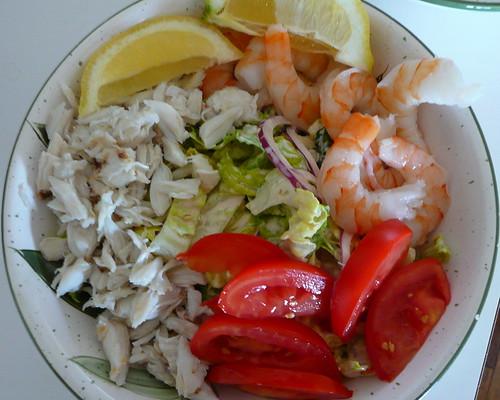 Shrimp and Crab Louie Salad