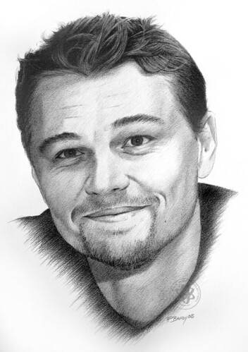 Leonardo dicaprio originally uploaded by pbradyart