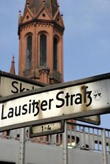 Incroci. (brando cimarosti) Tags: berlin church germany cross chiesa campanile signals brando insegna germania segnali berlino incrocio cimarosti