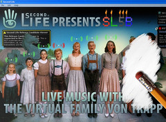 Live performance Virtual Family Von Trapp @ SL5B cancelled (a)