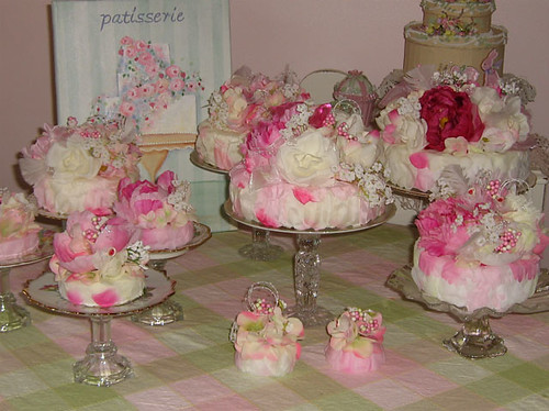 Pink Fairy Cakes