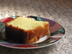 Olive Oil and Yogurt Cake, Sliced