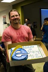 al with cake