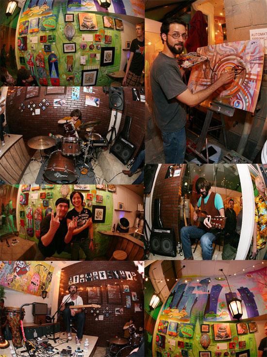 Broken Door Live Painting photos byTrishaLeeper