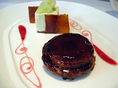 Caramelised Tarte Tatin & Granny Smith parfait