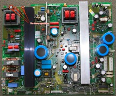 power board capacitors