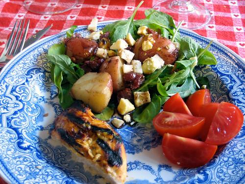 Grandma Wetzler's Arugula Salad