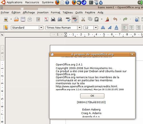 Les créateurs d'OpenOffice.org