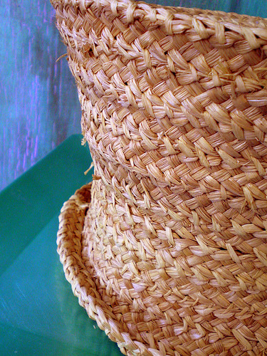 Handmade Straw Hat (two)