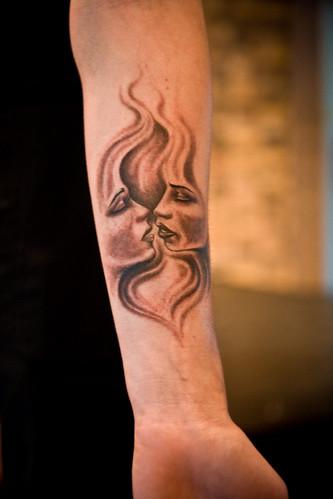 Lesbian Tattoo 111