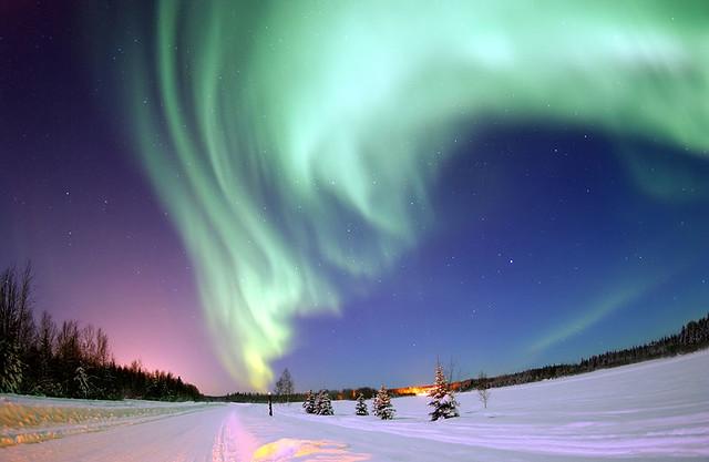 Aurora Boreal n alaska