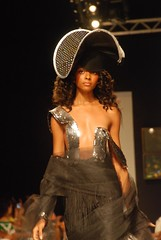 Caribbean Fashion Week 2008  Claudia Pegus (Revenge Fashion Magazine) Tags: show news black fashion shop mall magazine design tv model african models kingston revenge bikini american jamaica claudia week caribbean swimsuit runway couture designers pegus