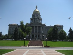 The Colorado State Capitol. (07/03/2008)