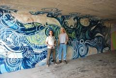 DSC_0829 (Kurt Christensen) Tags: art beach painting mural surf thrust gilgobeach gilgo
