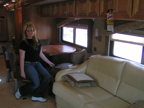 luxury RV model