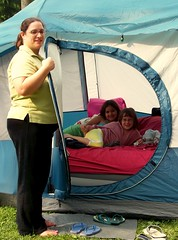 The Girls in the Tent