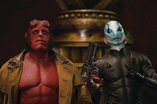 Hellboy y Doug Jones