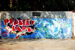 parking lot walls (probable koz) Tags: atlanta graffiti buckhead d40
