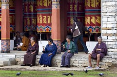Bhutan (babasteve) Tags: bhutan prayer buddhism chorten babasteve prayerwheels buddhists thimphu steveevans buddhistprayerwheels buddhistadherents
