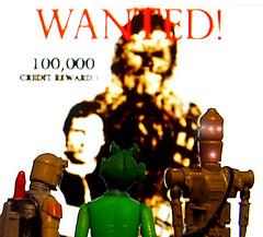 """Let's go for it!"" (Decepticreep) Tags: starwars chewbacca hansolo bountyhunters"