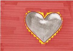 290708 (Qavit) Tags: pencil heart 2008 herz bleistift copic dailyartcard