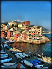 Paradise set (klausthebest) Tags: sea sky italy house seascape colour boats bravo italia liguria genoa genova soe italians boccadasse fpc supershot golddragon worldbest visiongroup holidaysvacanzeurlaub diamondclassphotographer flickrdiamond betterthangood theperfectphotographer goldstaraward vision100 mallmixstaraward